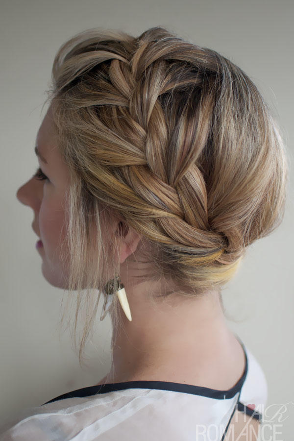 The French Crown Braid