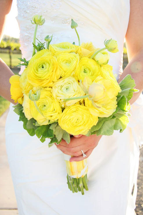 Ranunculus Wedding Bouquets Radiant