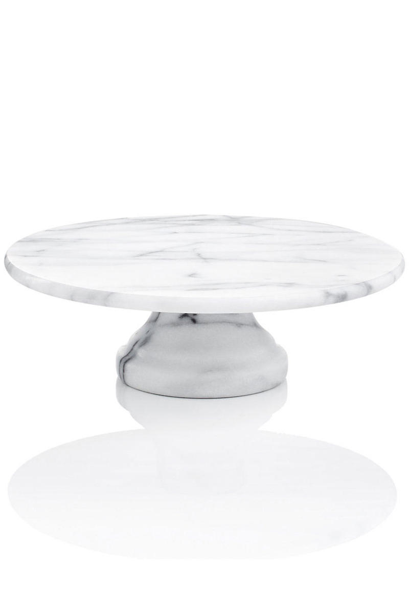 RX_1702 Cake Plates Marble Cake Plate