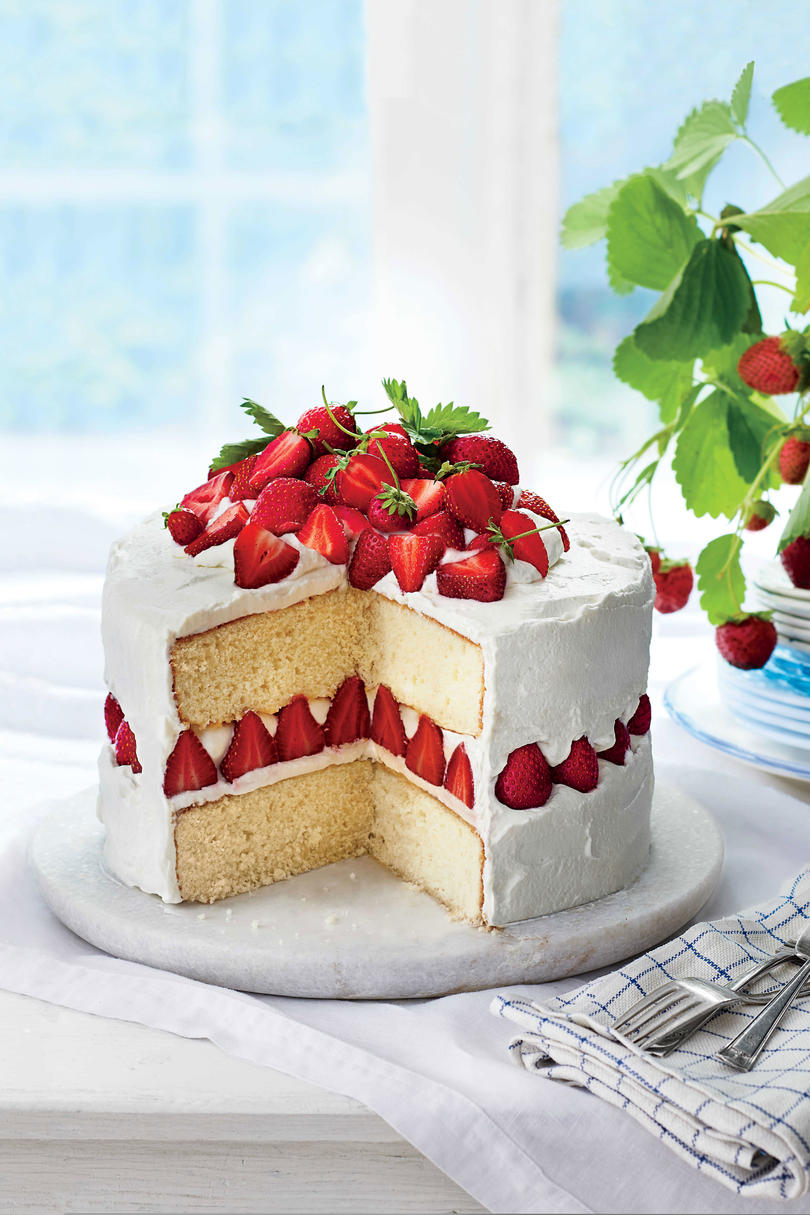 Strawberry Dream Cake