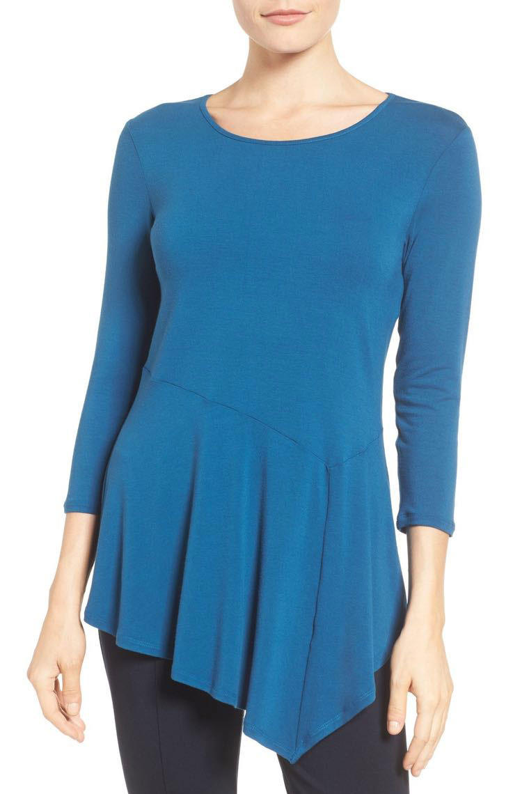RX_1702 Nordstrom Winter Sale Panel Hem Top
