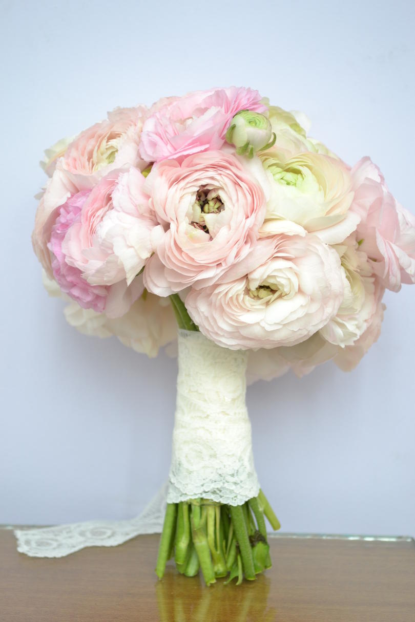 Ranunculus Wedding Bouquets Feminine