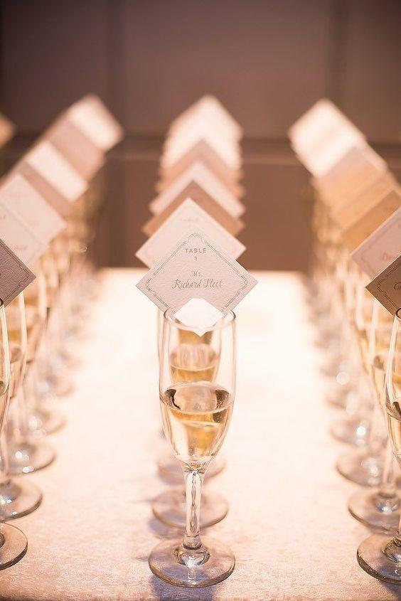 The Top Wedding Trends for 2017 Escort Cards