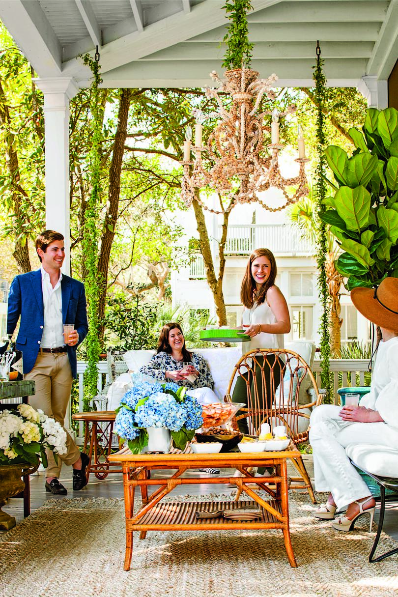 Springtime in the South Porch Parties