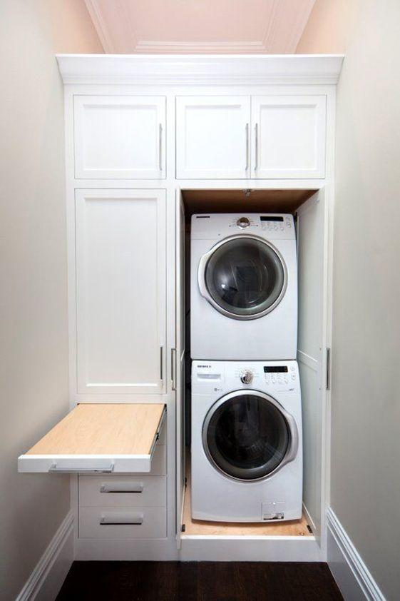 no space too small - Laundry Room Ideas