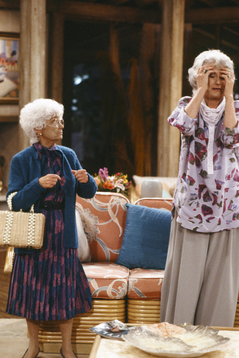 Sophia and Dorothy the Golden Girls