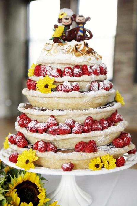 Stacked Wedding Pies