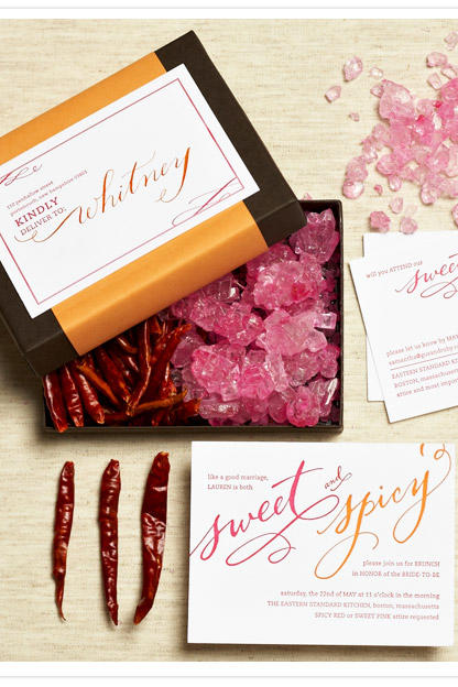 Sweet and Spicy Bridal Shower