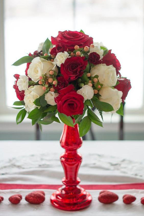 Valentine's Centerpiece Arrangement