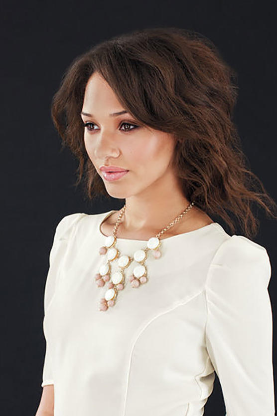 Woman Wearing Necklace