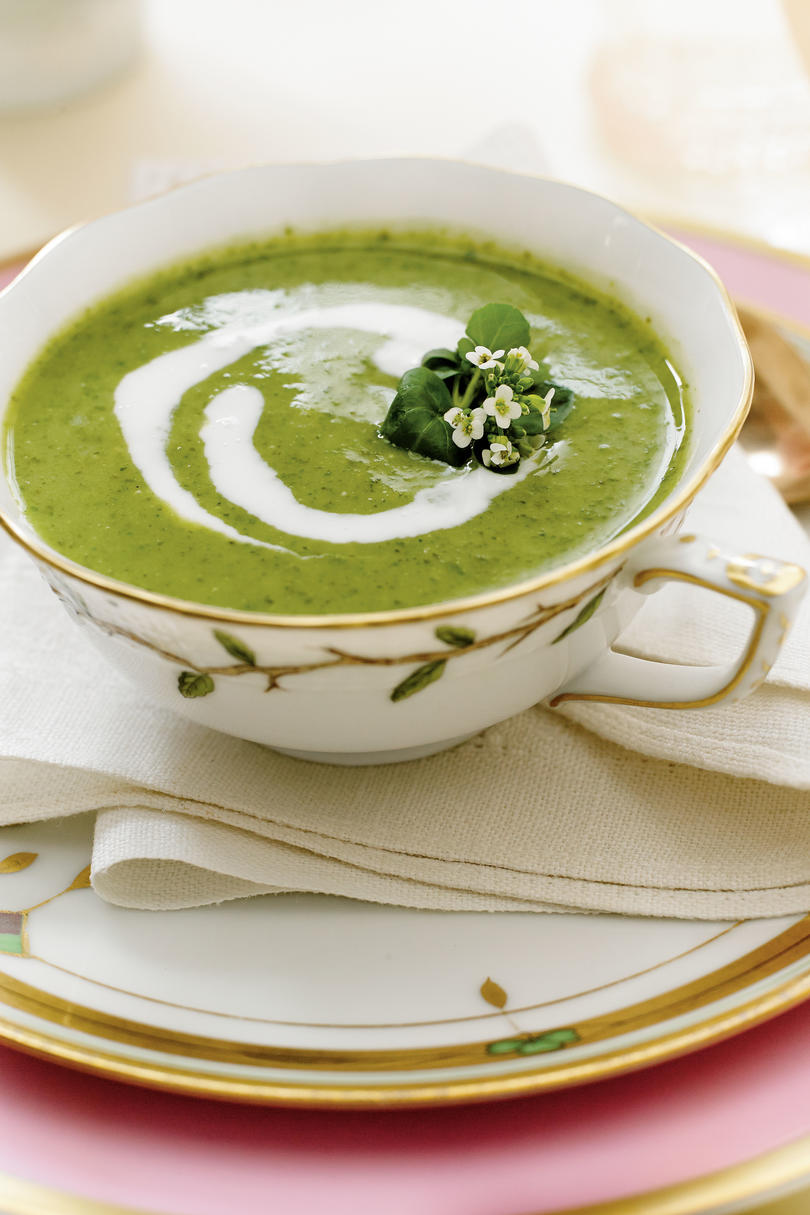 Watercress-Buttermilk Soup