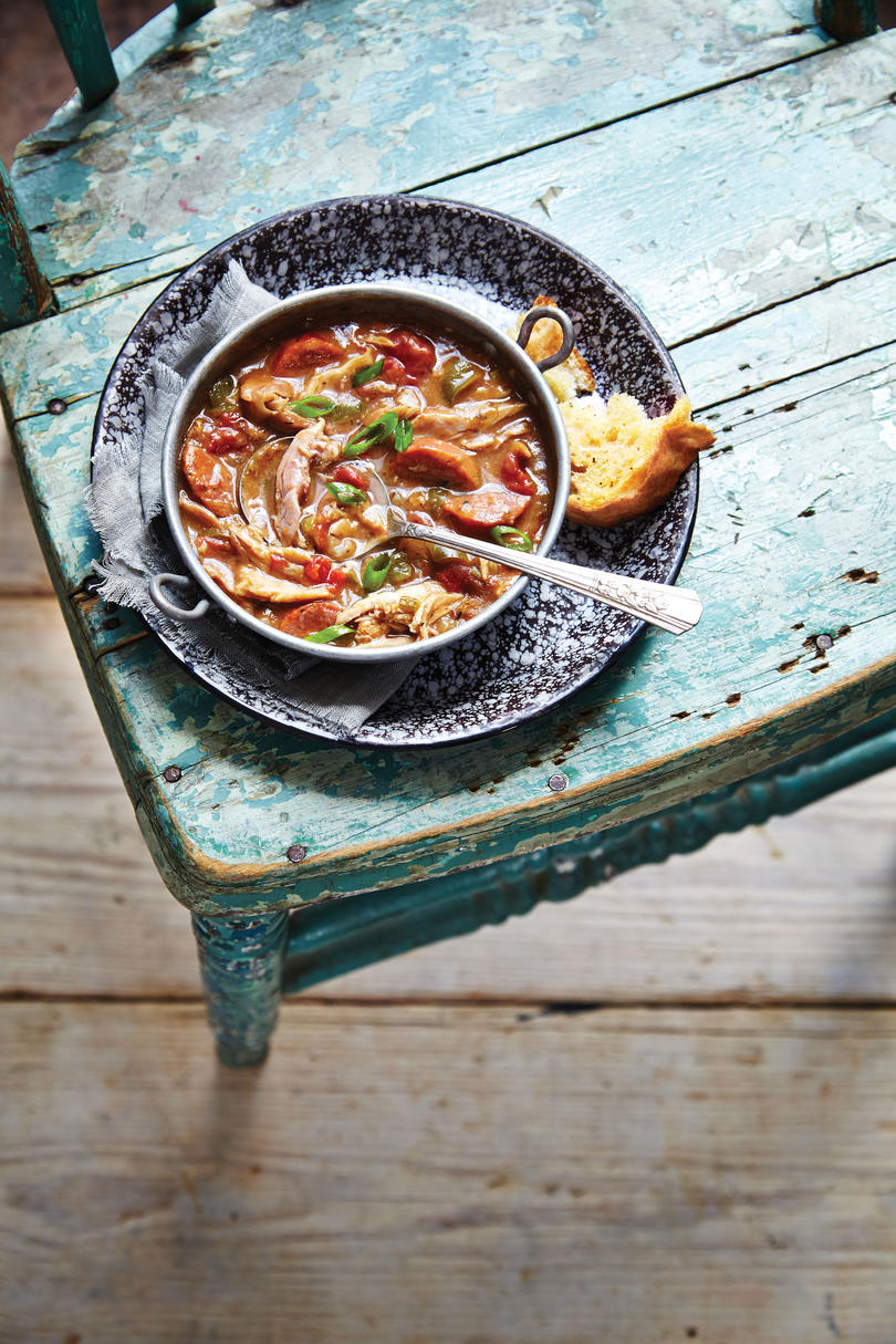 Rainy day recipes for when youre not leaving the house southern andouille sausage and smoked chicken gumbo forumfinder Images