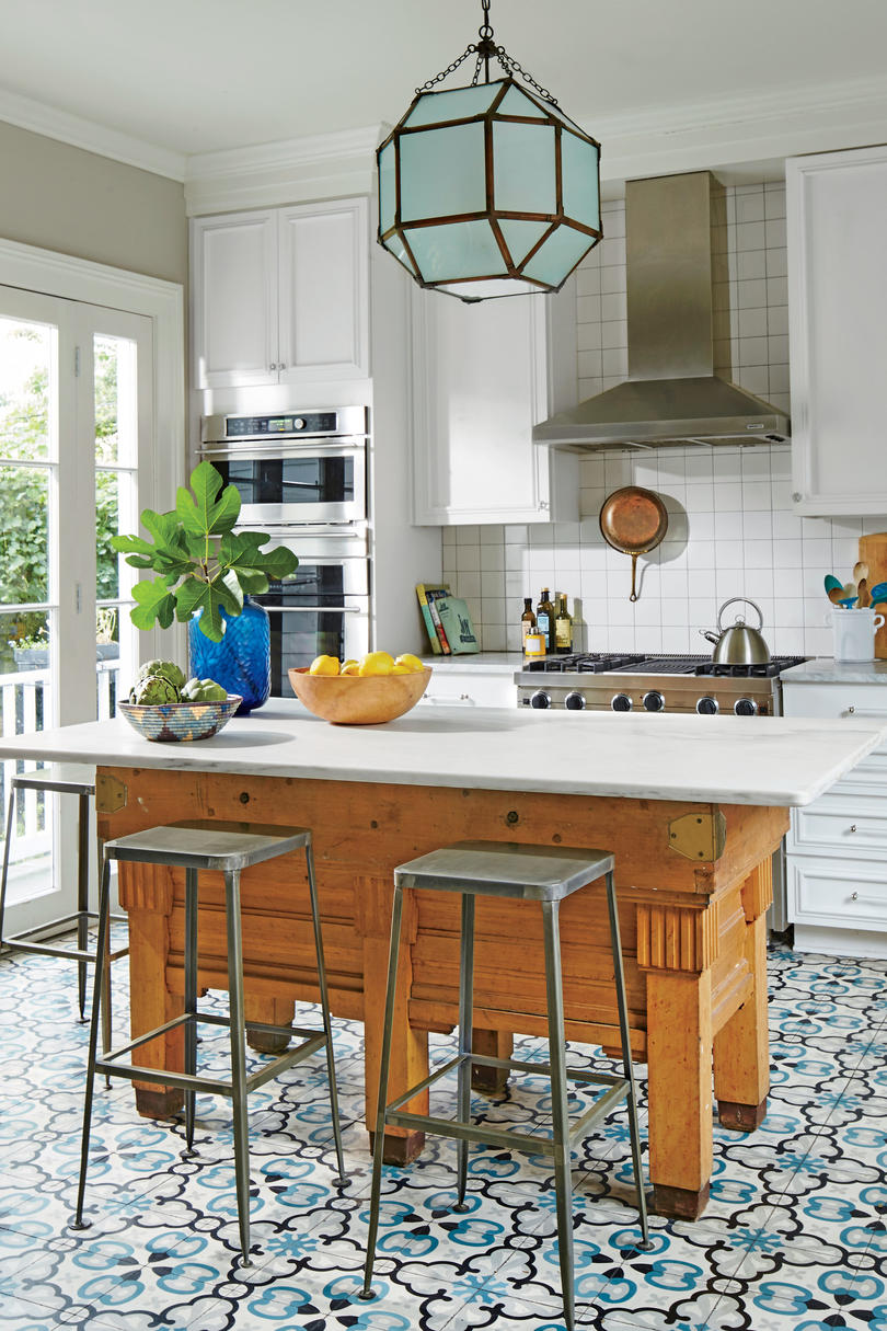 Formal House Doesn't Have to Mean Formal Kitchen