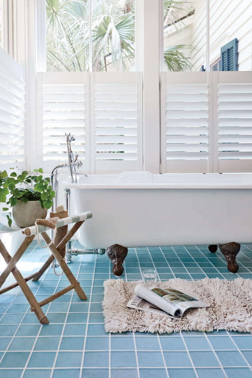Interior Shutters in Master Bath
