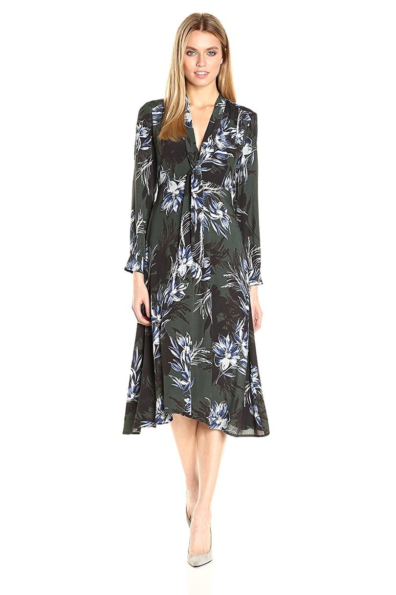 ASTR Women's Edith Floral Print Dress