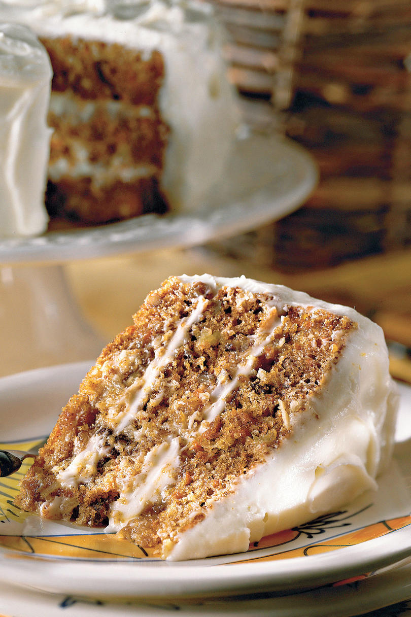 Carrot cake recipes southern living for Best ever apple cake country living