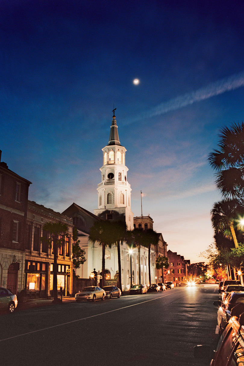 City of Charleston at Dusk