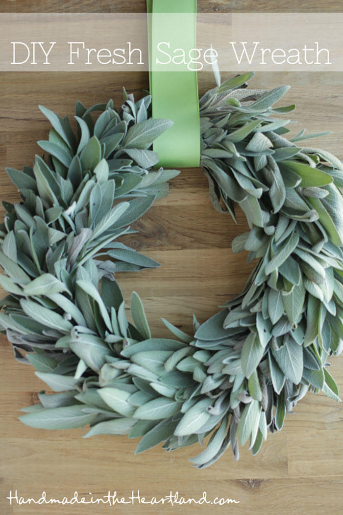 The Simple Sage Wreath