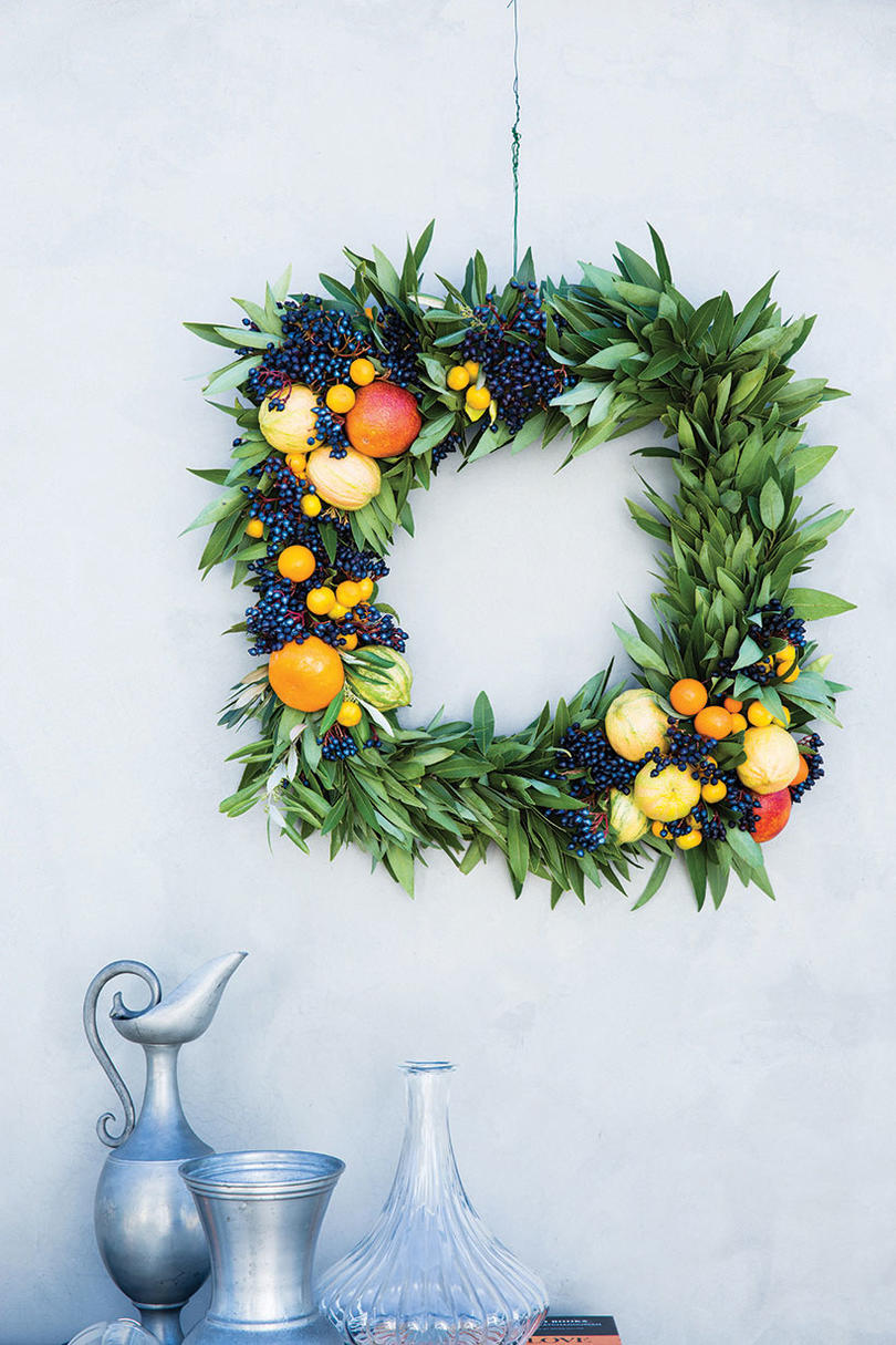 The Citrus Wreath