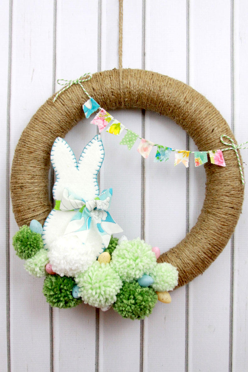 The Pom-Pom Wreath