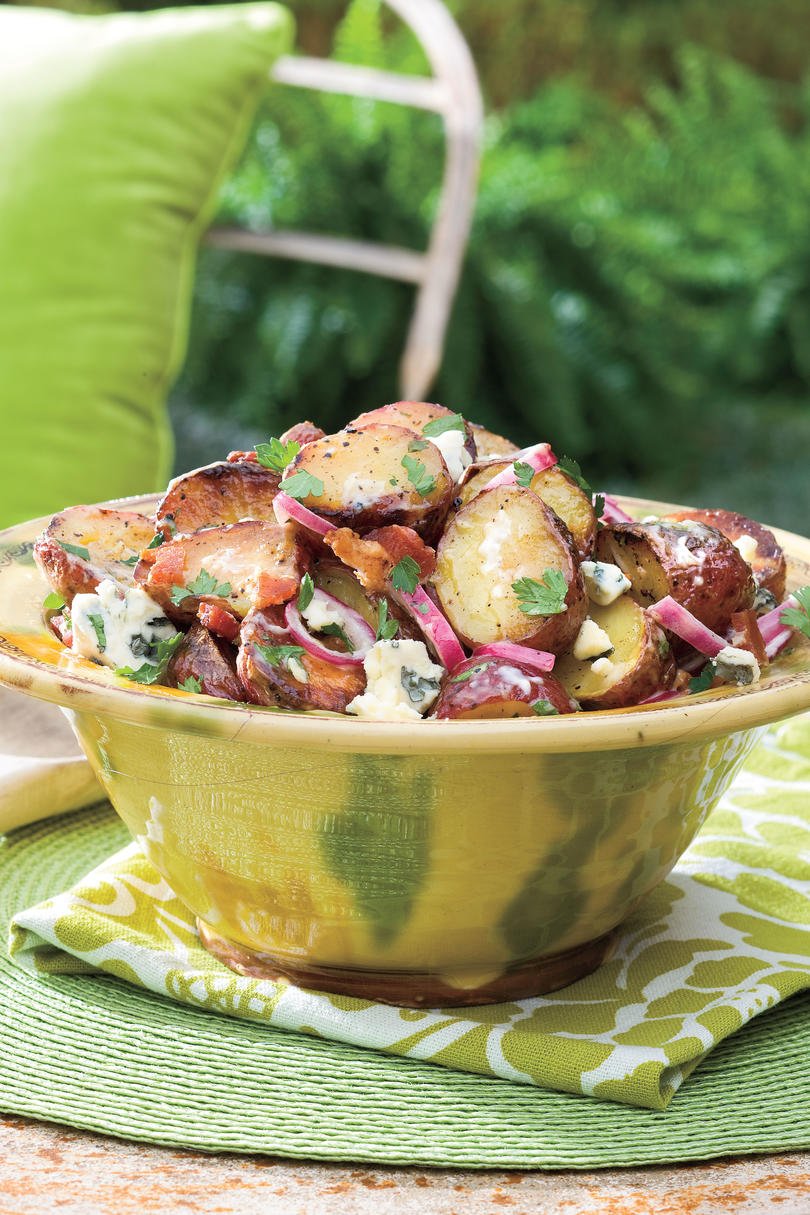 Big Daddy's Grilled Blue Cheese and Bacon Potato Salad