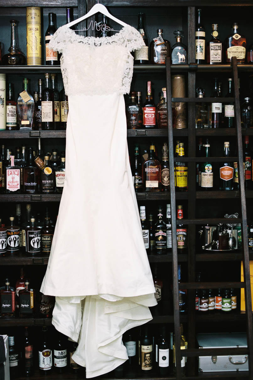 The Dress Hanging in the Distillery