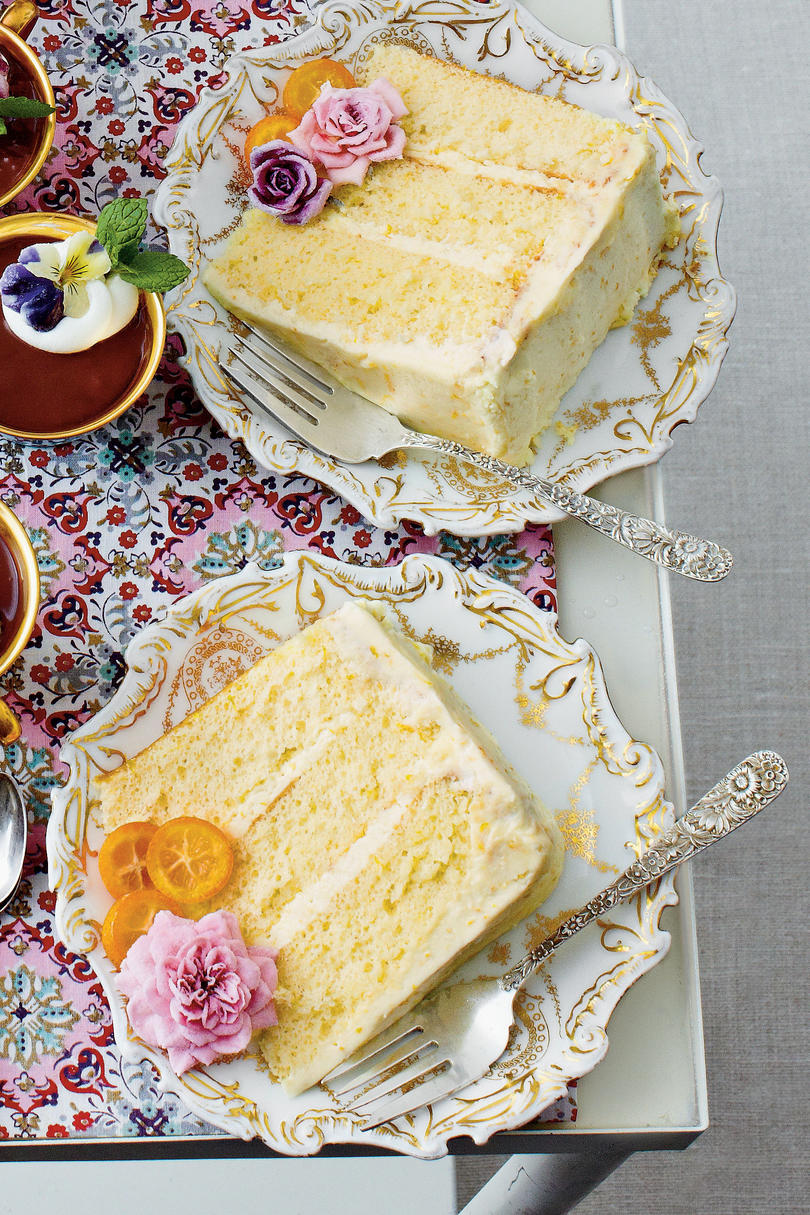 Lemon-Orange Chiffon Cake
