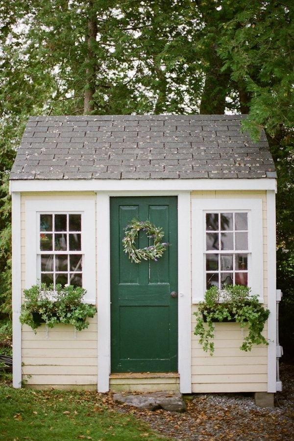 RX_1703_Garden Sheds_Little Shed with Green Door