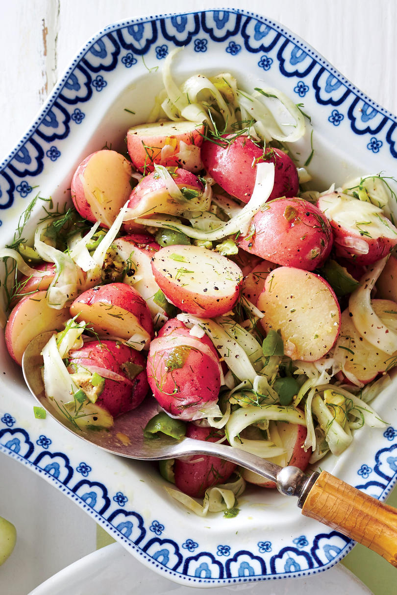 New Potato and Fennel Salad