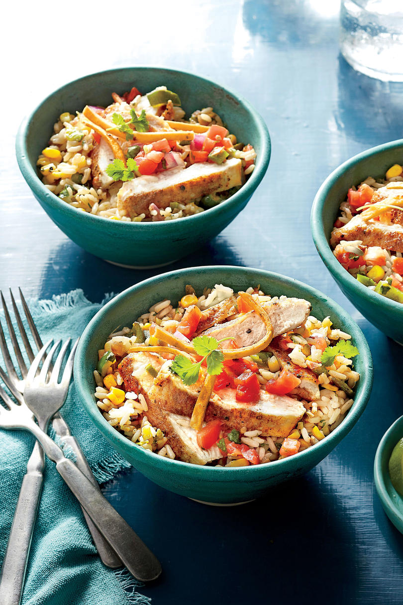One pot chicken dinners for when it s your turn to do the dishes southern living Sw meals