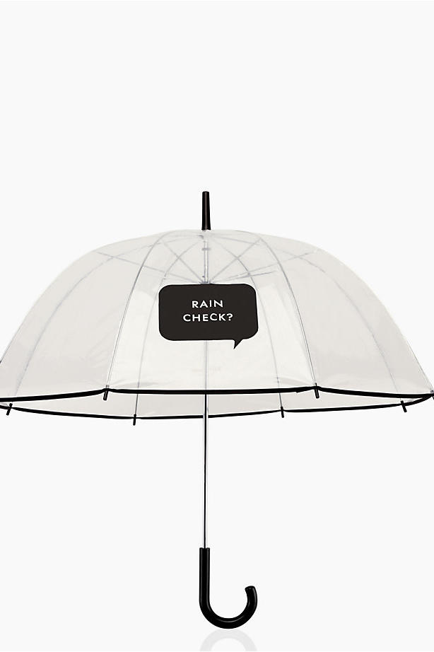 Kate Spade rain check? umbrella