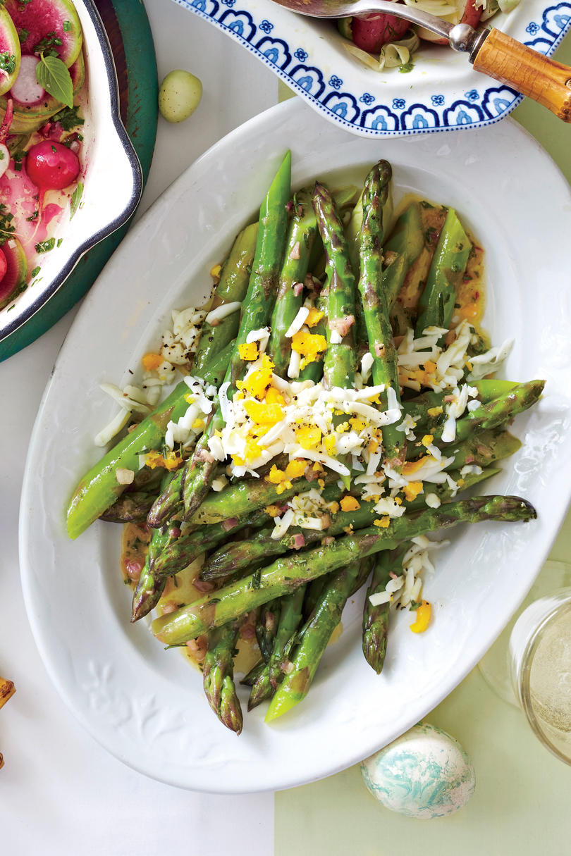 Tarragon Asparagus with Eggs