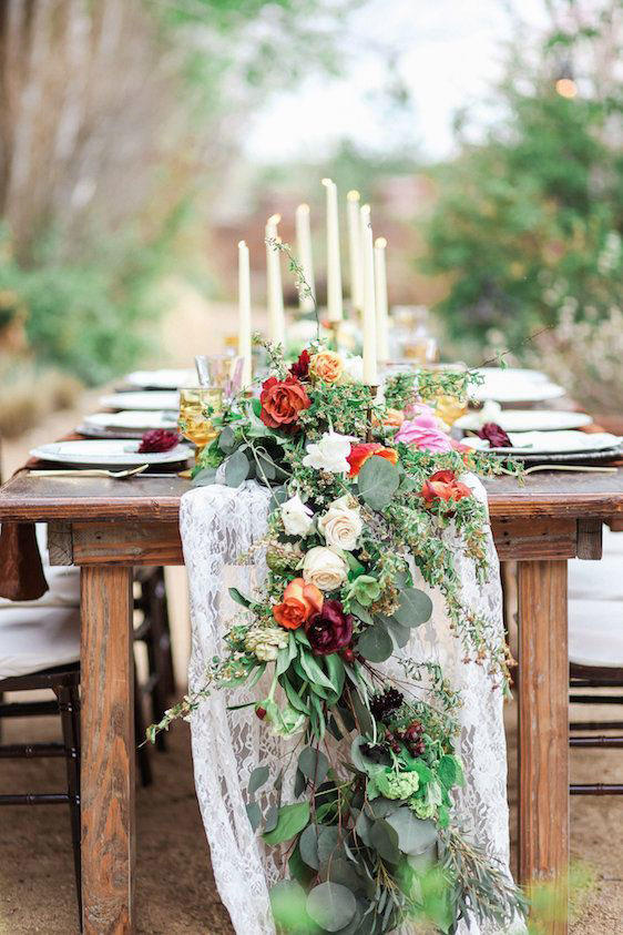Rustic Table Garland