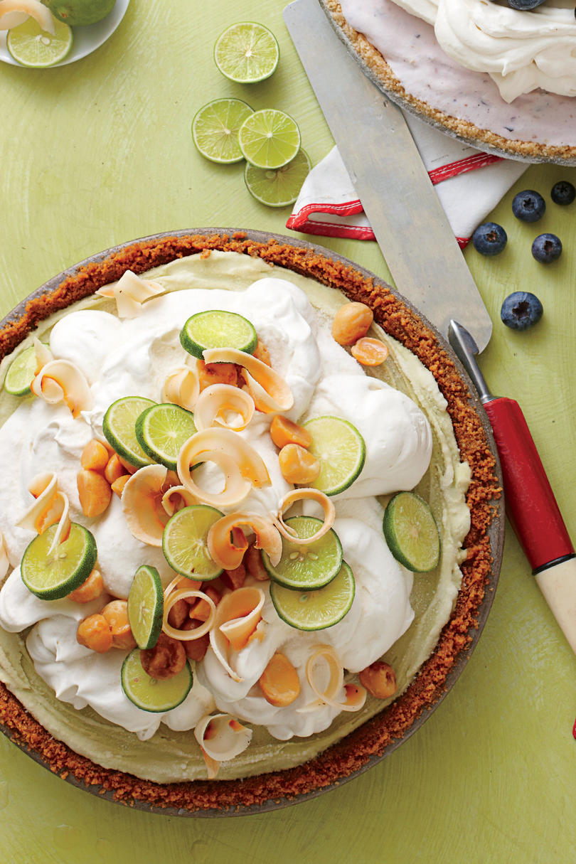 Key Lime Ice-Cream Pie