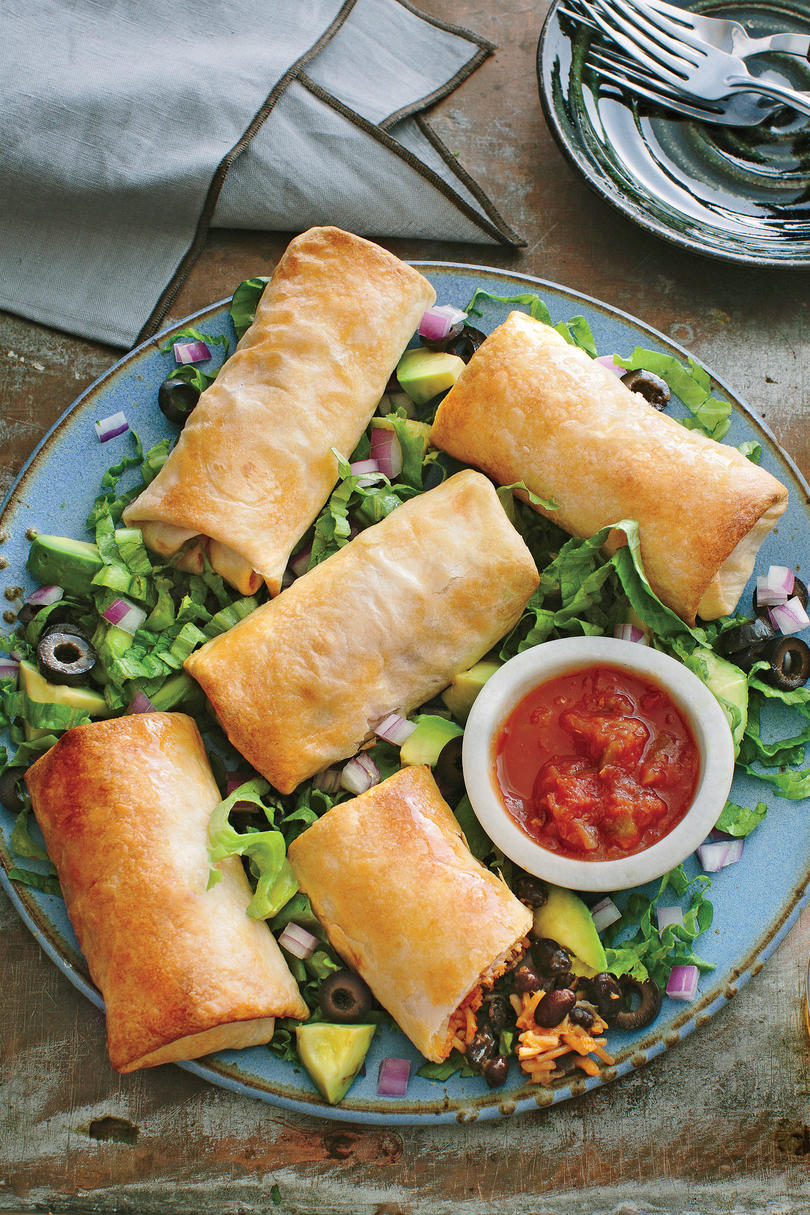 Black Bean Chimichangas