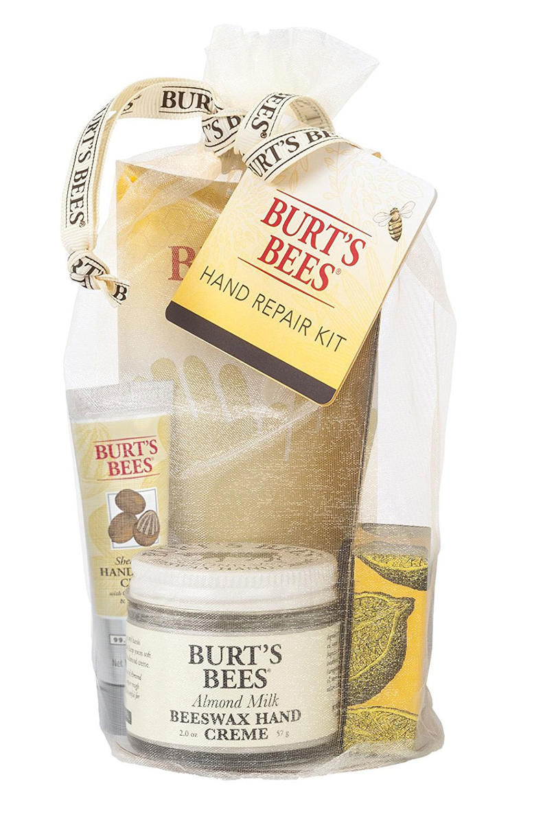 Last minute hostess gifts you can have in time for easter burts bees hand repair gift set negle Images