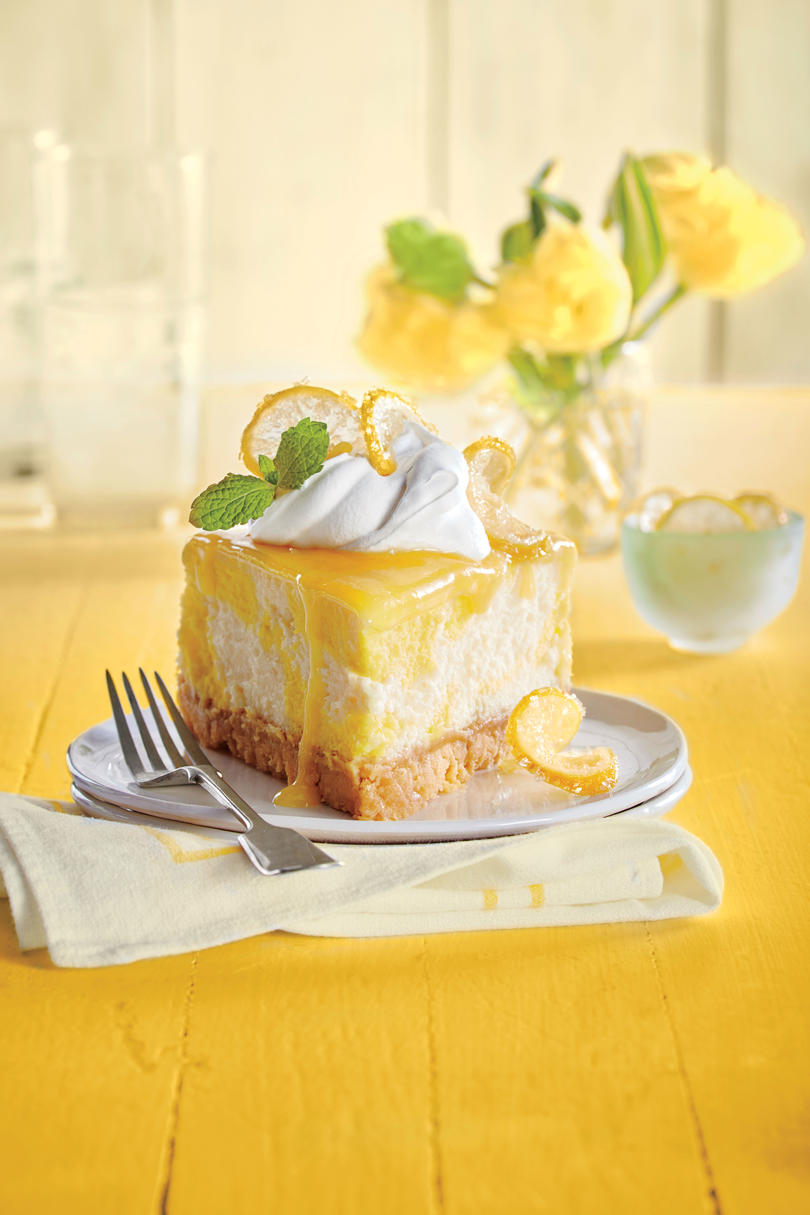 Dreamy Lemon Cheesecake