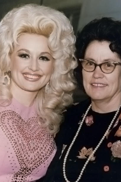 Dolly and Her Mom Avie Lee