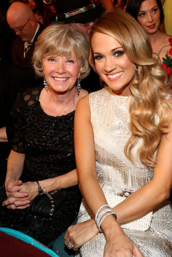 Carrie Underwood and Her Mom