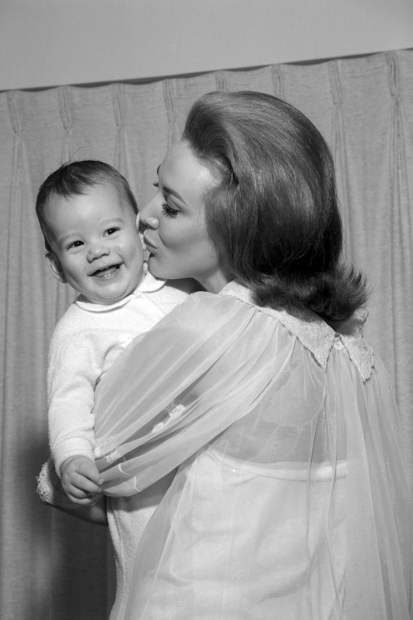 Vintage Mom and Baby