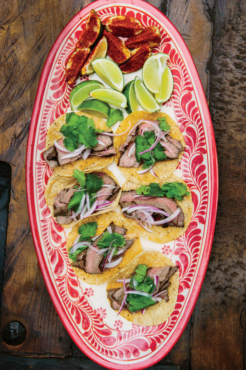 Grilled Sirloin Tacos