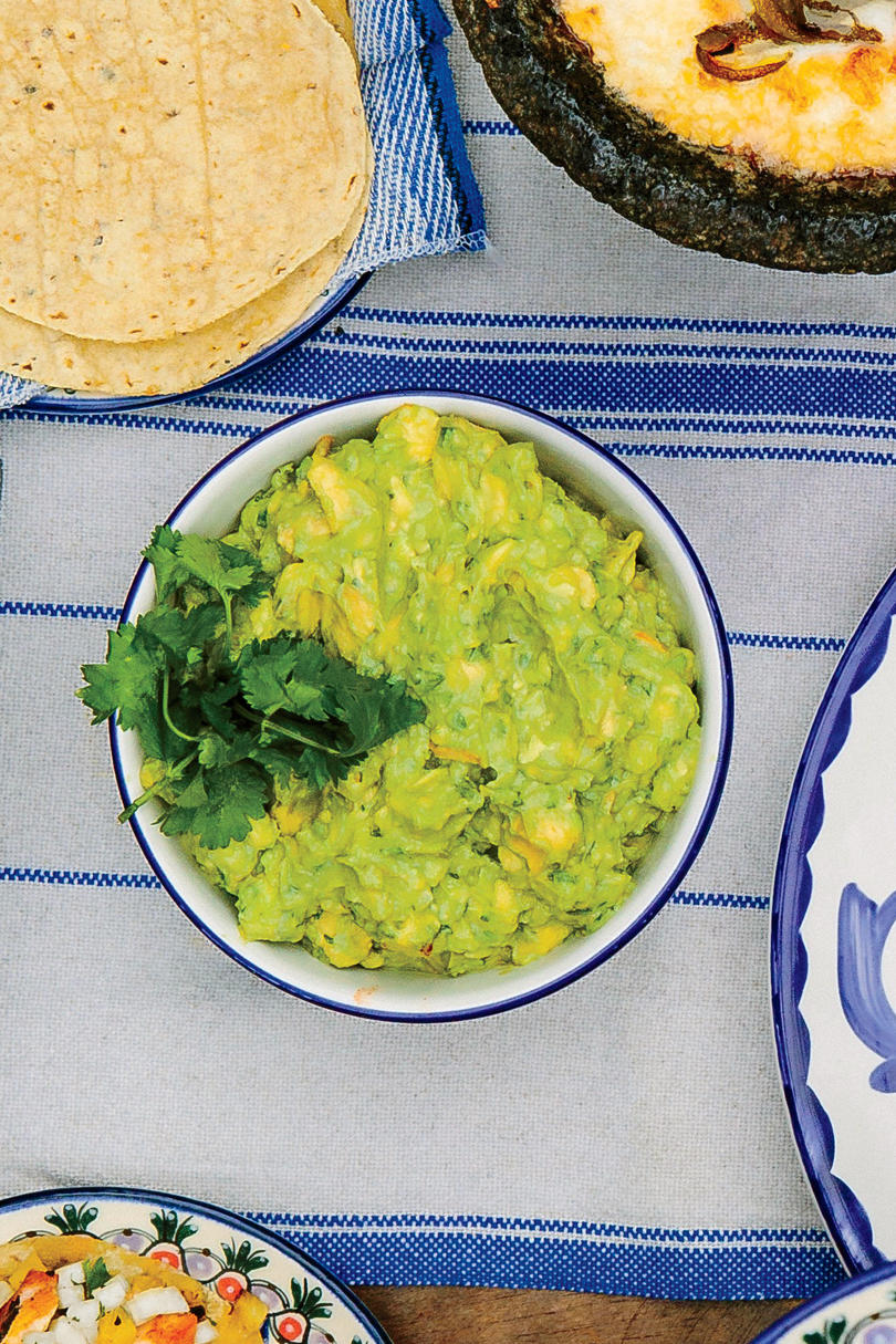 Guacamole with Jicama