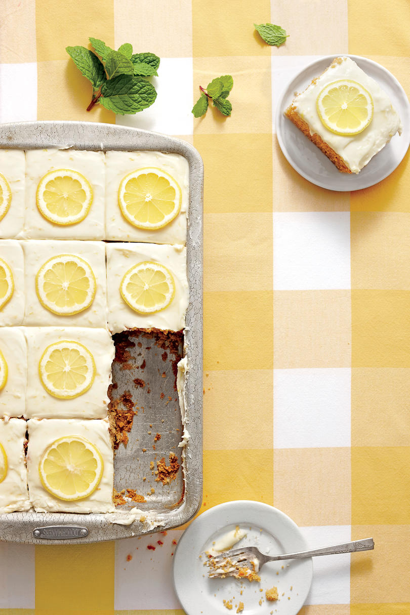 Sweet Tea-and-Lemonade Cake