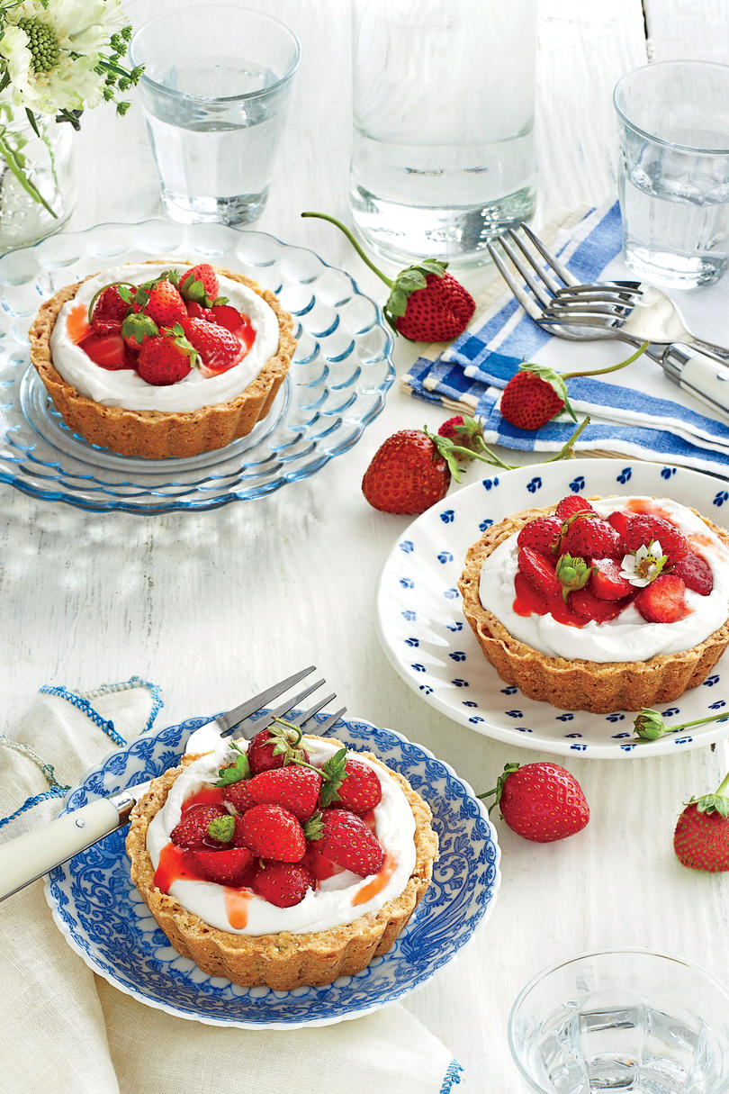 Mini Strawberry Tarts