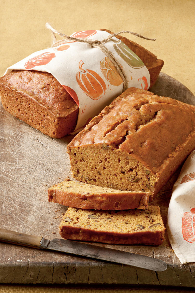 Pecan-Pumpkin Bread