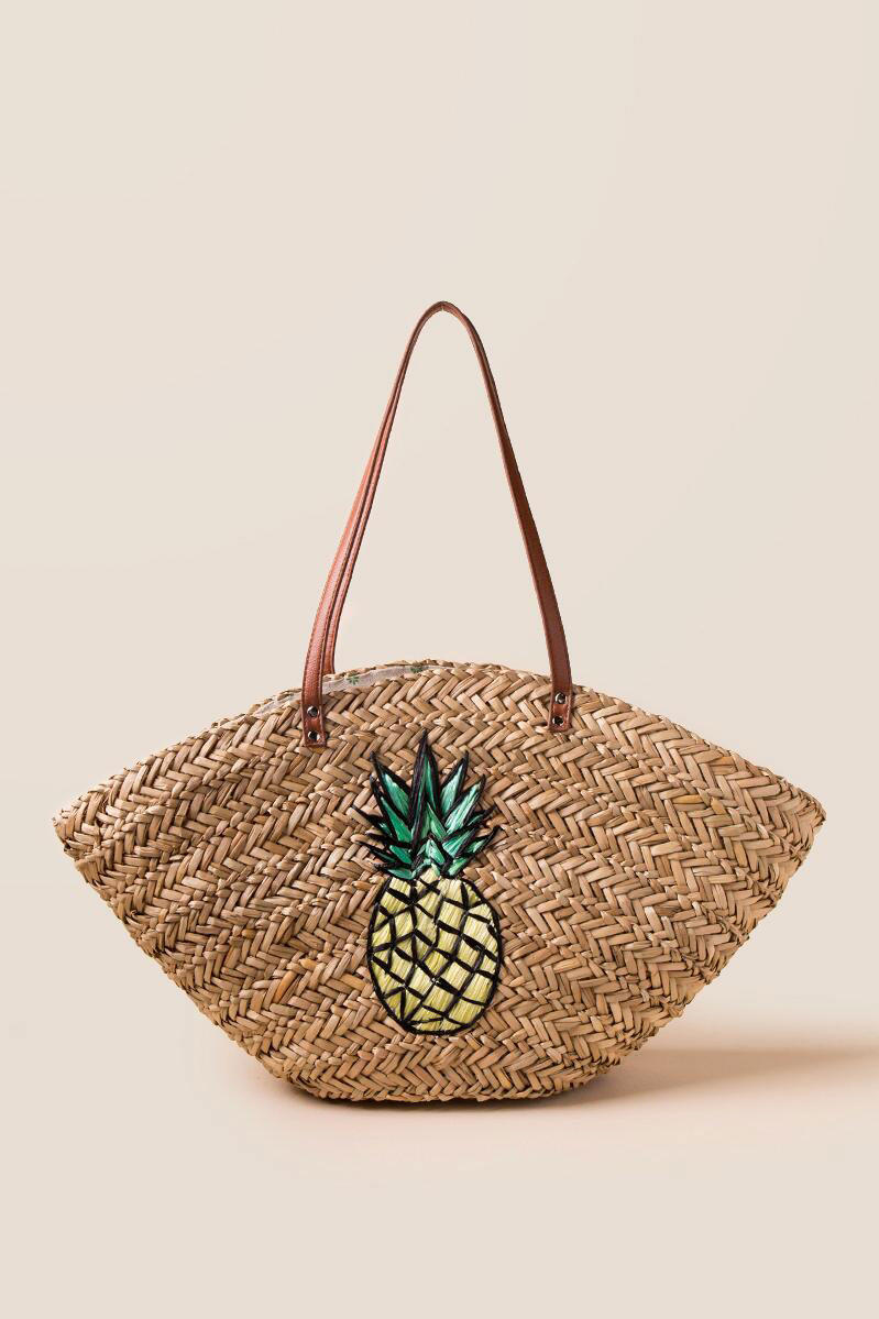 cute pineapple. pineapple beach tote cute p