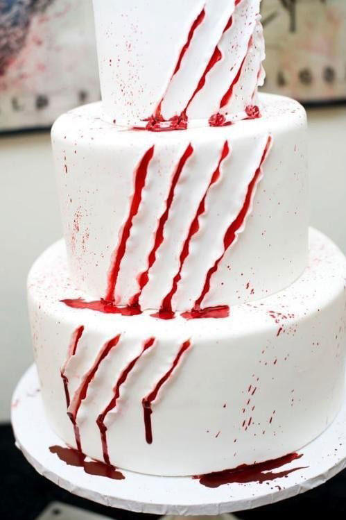 Wounded Halloween Cake