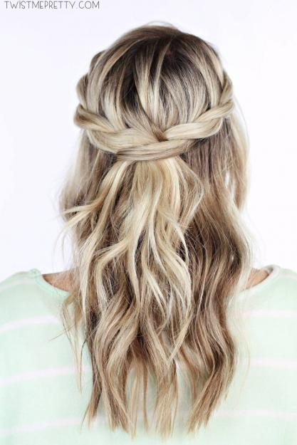 Everyday Twisted Crown Braid