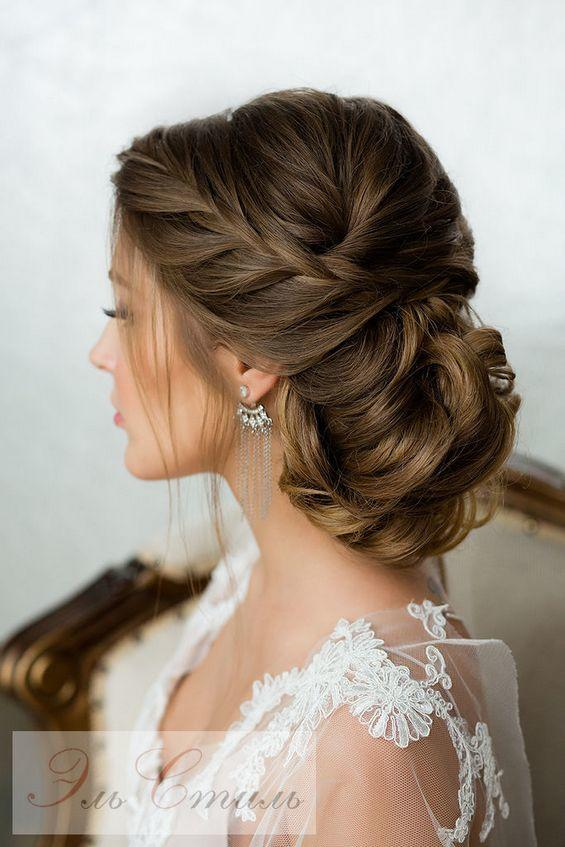 RX_1705_Wedding Hair_Deer Pearl Flowers Braided Bun
