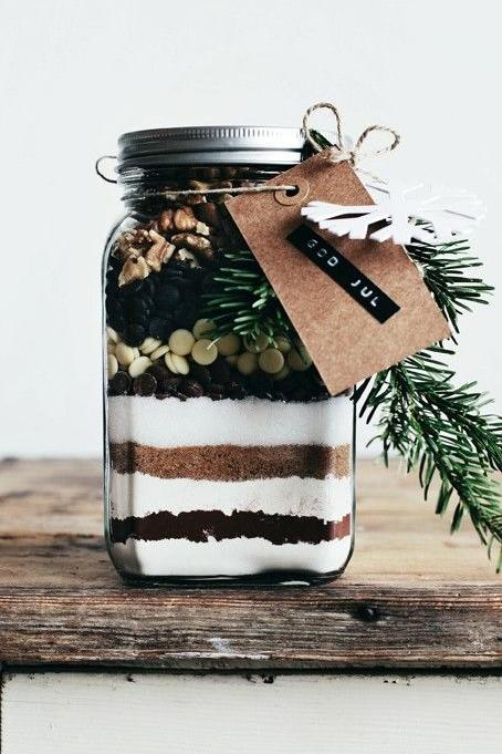 Edible Gifts: Sand Art Brownie Mix